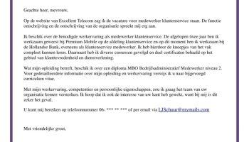 motivatiebrief magazijnmedewerker zonder ervaring Sollicitatiebrief Magazijnmedewerker | Magazijnier | + GRATIS CV