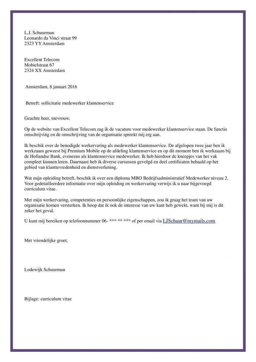 motivatiebrief voor administratief medewerker Voorbeeld Sollicitatiebrief Administratief Medewerker | Incl  motivatiebrief voor administratief medewerker