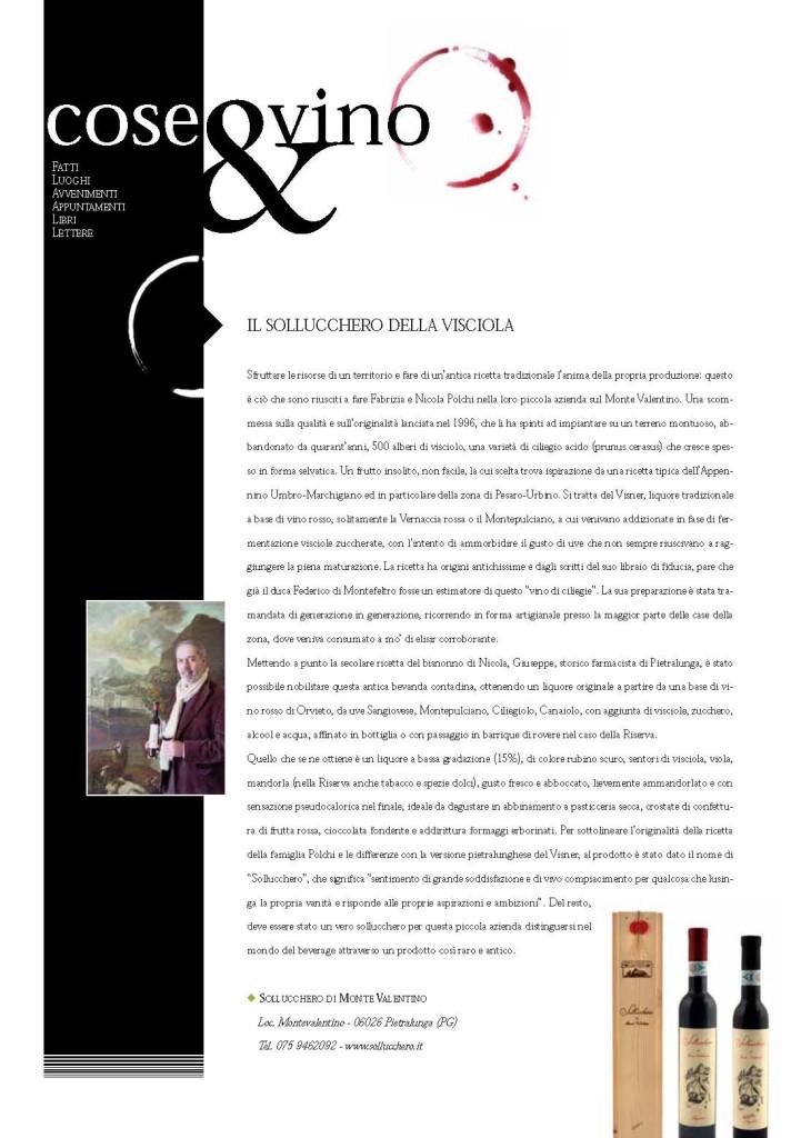 Articolo su Bibenda - n. 48 - Marzo 2014