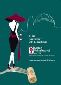 Locandina del MeranoWine Festival 2014
