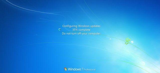 Actualizaciones windows 7