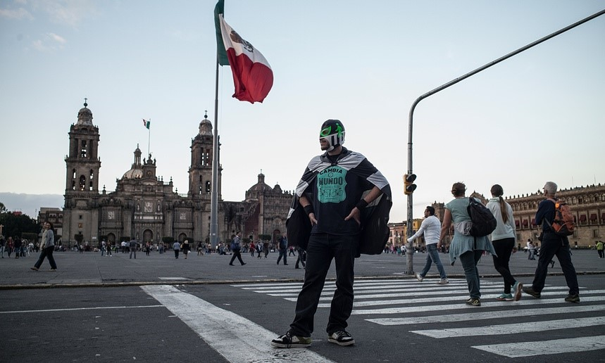pedestrian man