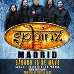 SPHINX: CONCIERTO EN MADRID