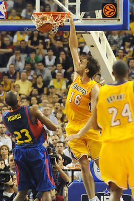 lakers,fc barcelona,pau gasol,nba,acb,euroleague,nba europe live tour