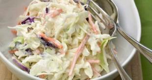 Receta de ensalada de col blanca