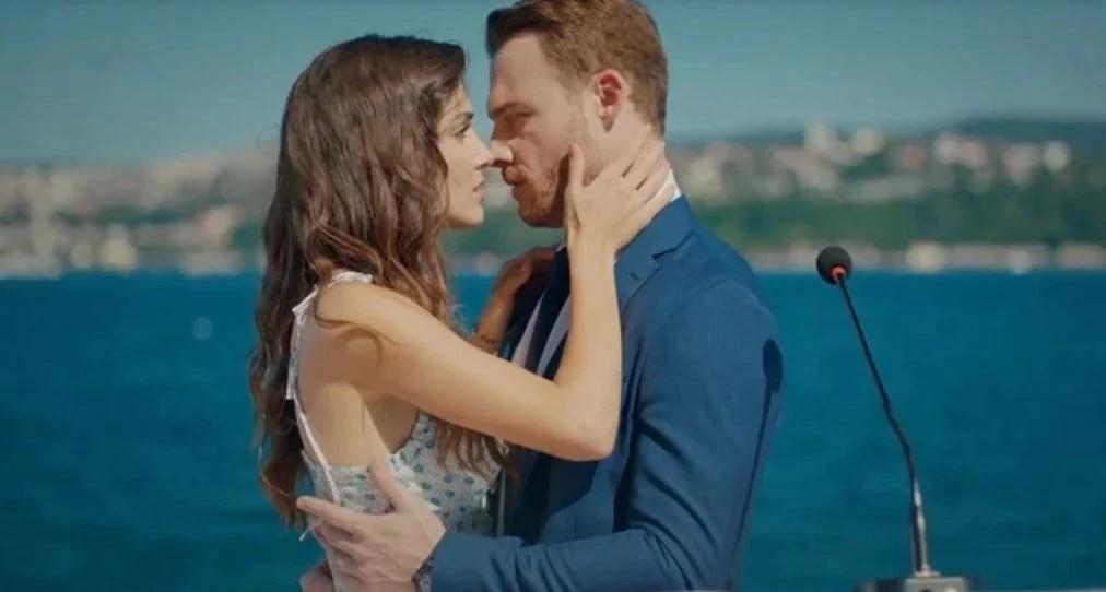 eda serkan kiss love is