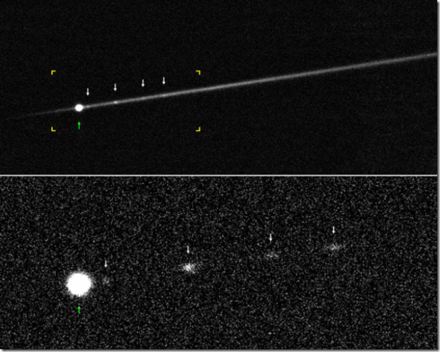 P/2012 F5 alta rotacion asteroide