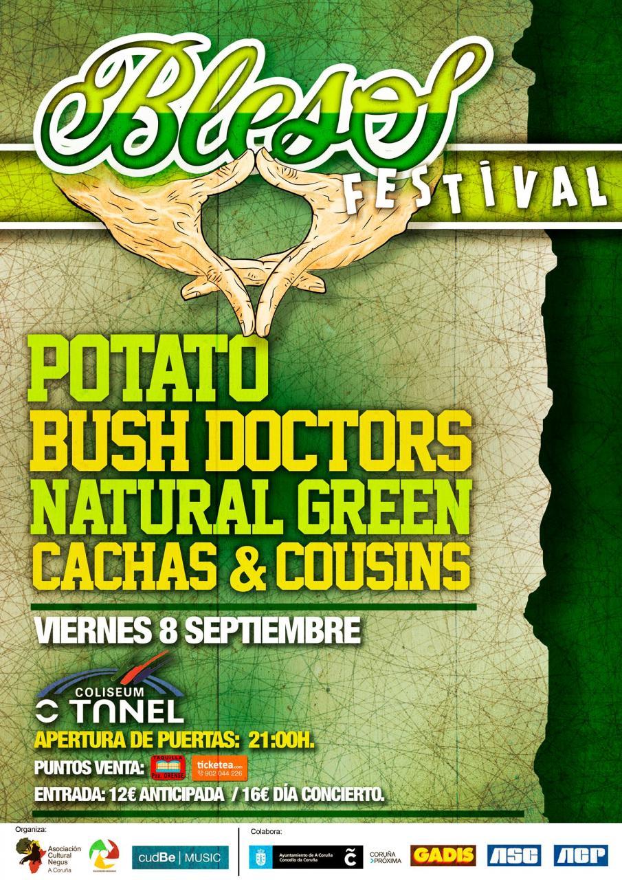 bless festival reggae galicia