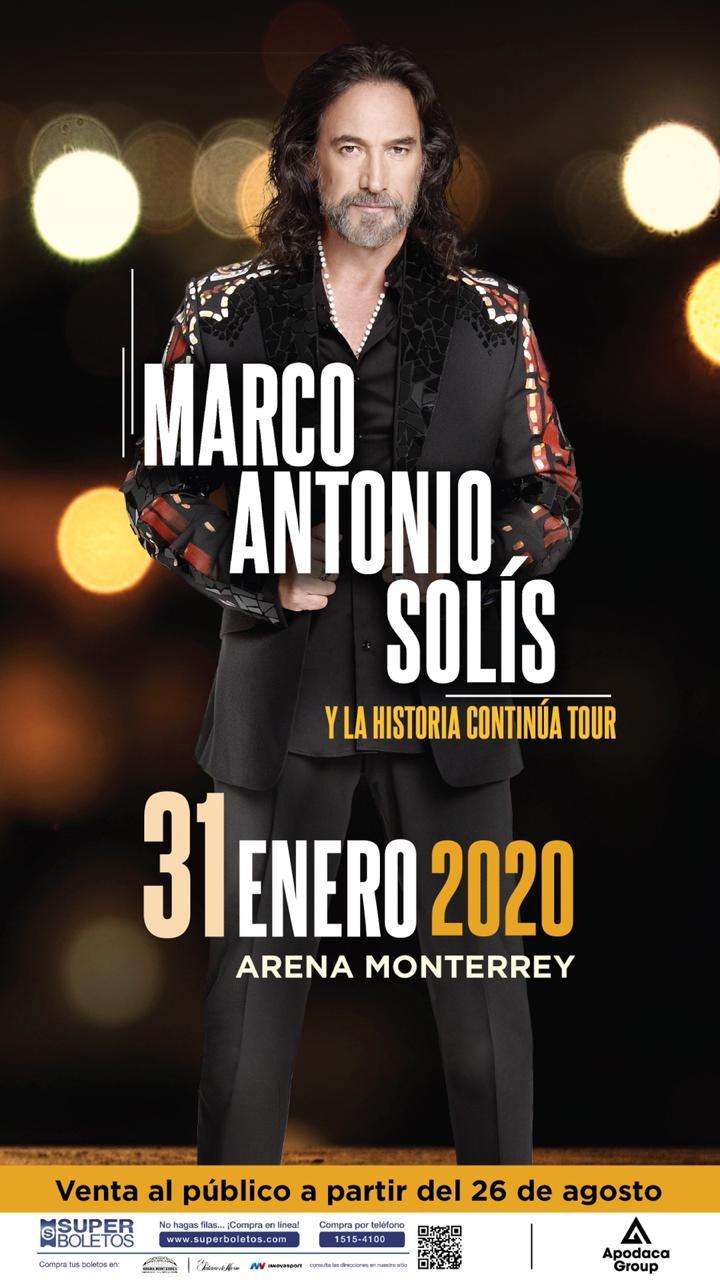 Conciertos de Marco Antonio Solis 2020