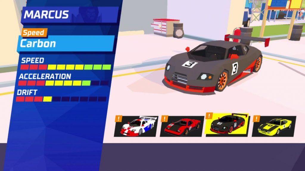 Hotshot-Racing-screenshots-vehículos-disponibles