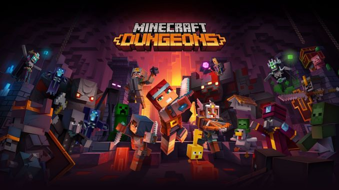Tráiler, capturas, noticias de Minecraft Dungeons Nether Update, Jungle Awakens DLC