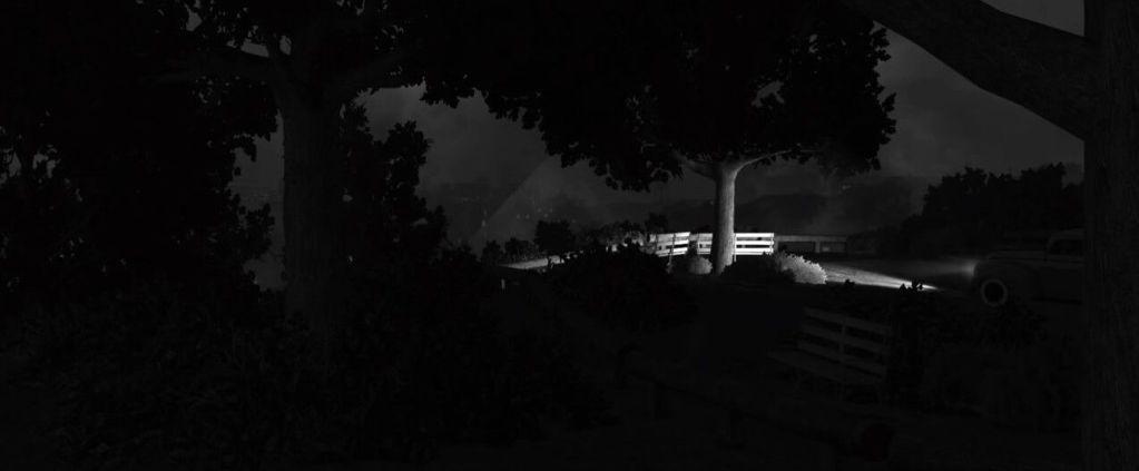 LA Noire screenshots capturas filtro blanco y negro, noir, black and white (19)