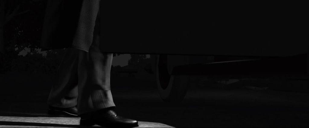 LA Noire screenshots capturas filtro blanco y negro, noir, black and white (20)