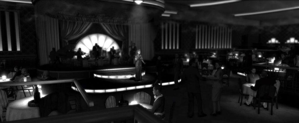 LA Noire screenshots capturas filtro blanco y negro, noir, black and white (26)