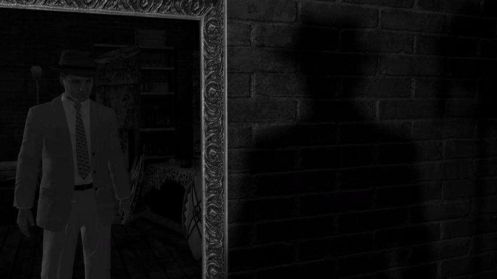 LA Noire screenshots capturas filtro blanco y negro, noir, black and white (3)