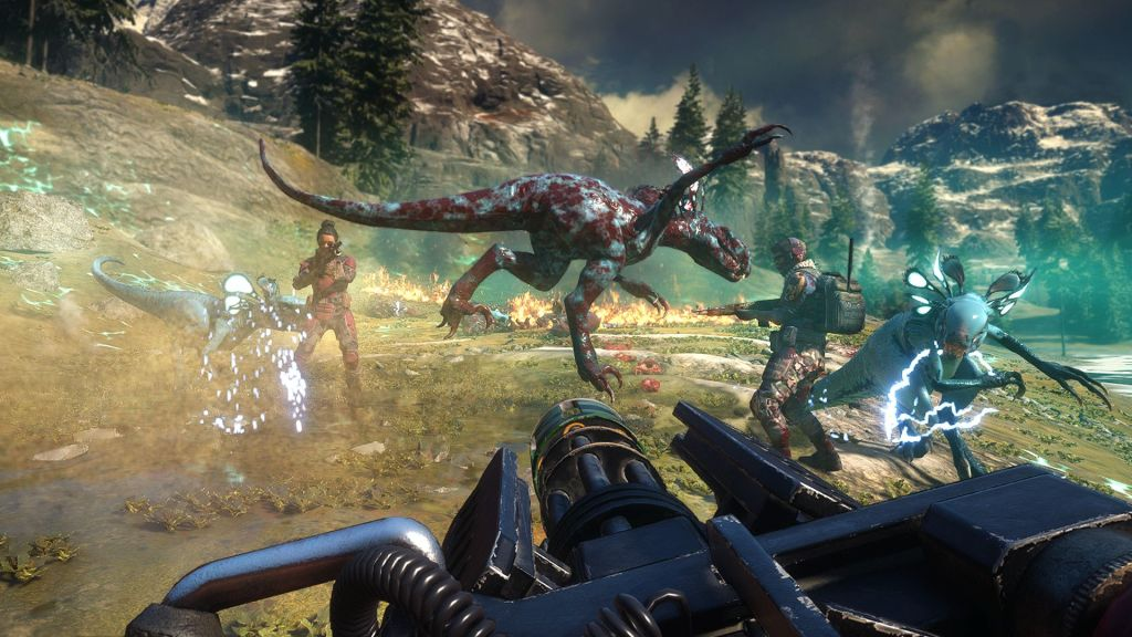 Gameplay trailer de second extinction, FPS coop dinosaurios mutantes Summer of Gaming