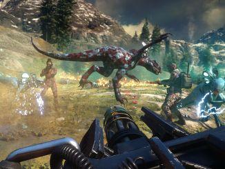Gameplay trailer de second extinction, FPS coop dinosaurios mutantes Summer of Gaming