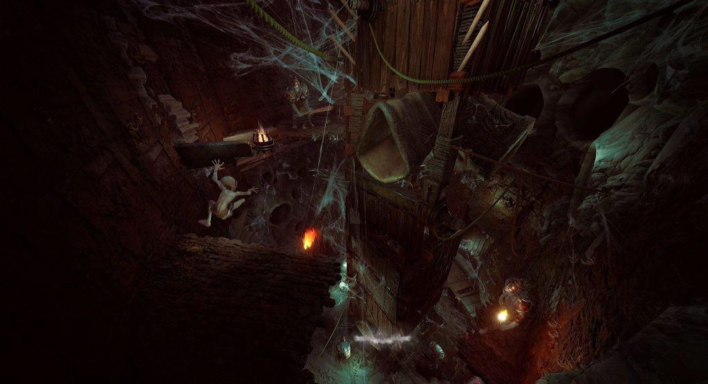 The Lord of the Rings Gollum screenshots capturas de pantalla (6)