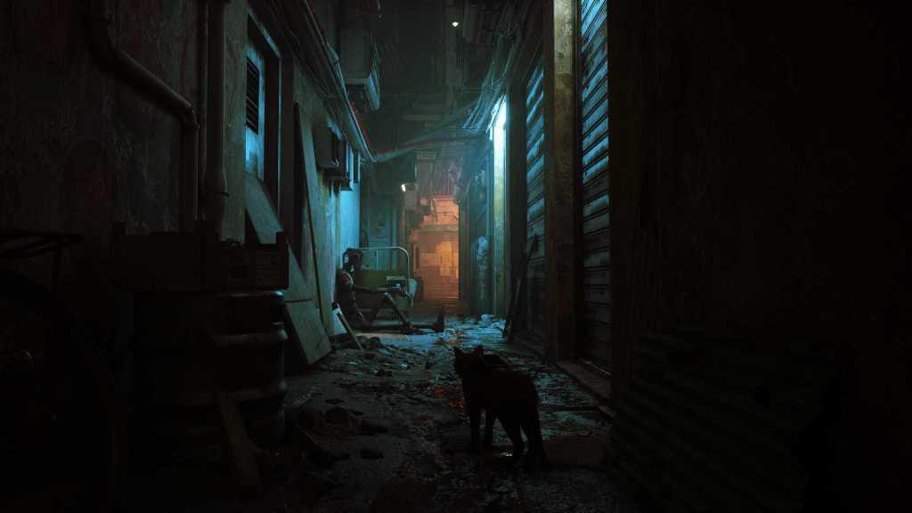 Stray screenshots capturas cat video game videojuego del gato (4)