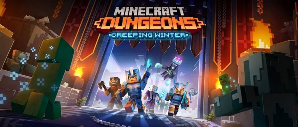 Minecraft-Dungeons-Creeping-Winter-DLC-screenshots-capturas