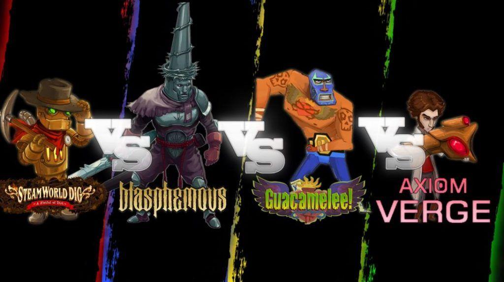 Bounty Battle: SteamWorld Dig vs Blasphemous vs Guacamelee vs Axiom Verge