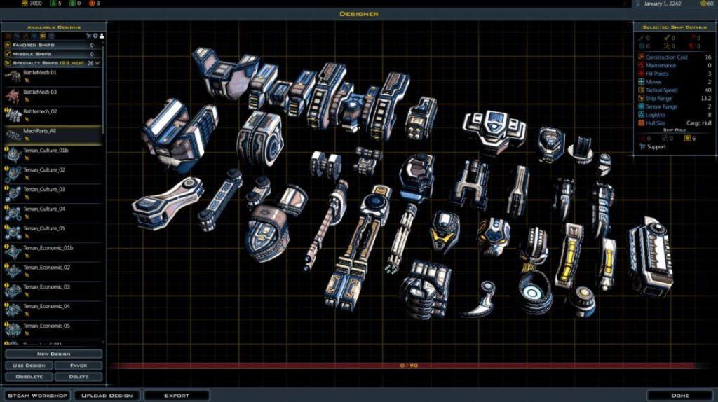Galactic-Civilizations-3-facciones
