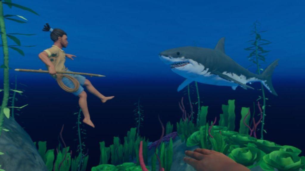 Raft-guia-consejos-screenshots-derrotar-tiburon