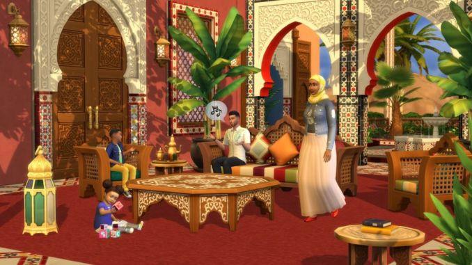 Sims-4-Kit-Oasis-en-el-Patio-que-trae