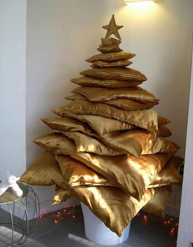 rbol de navidad de cojines