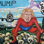 Anti-Trump art