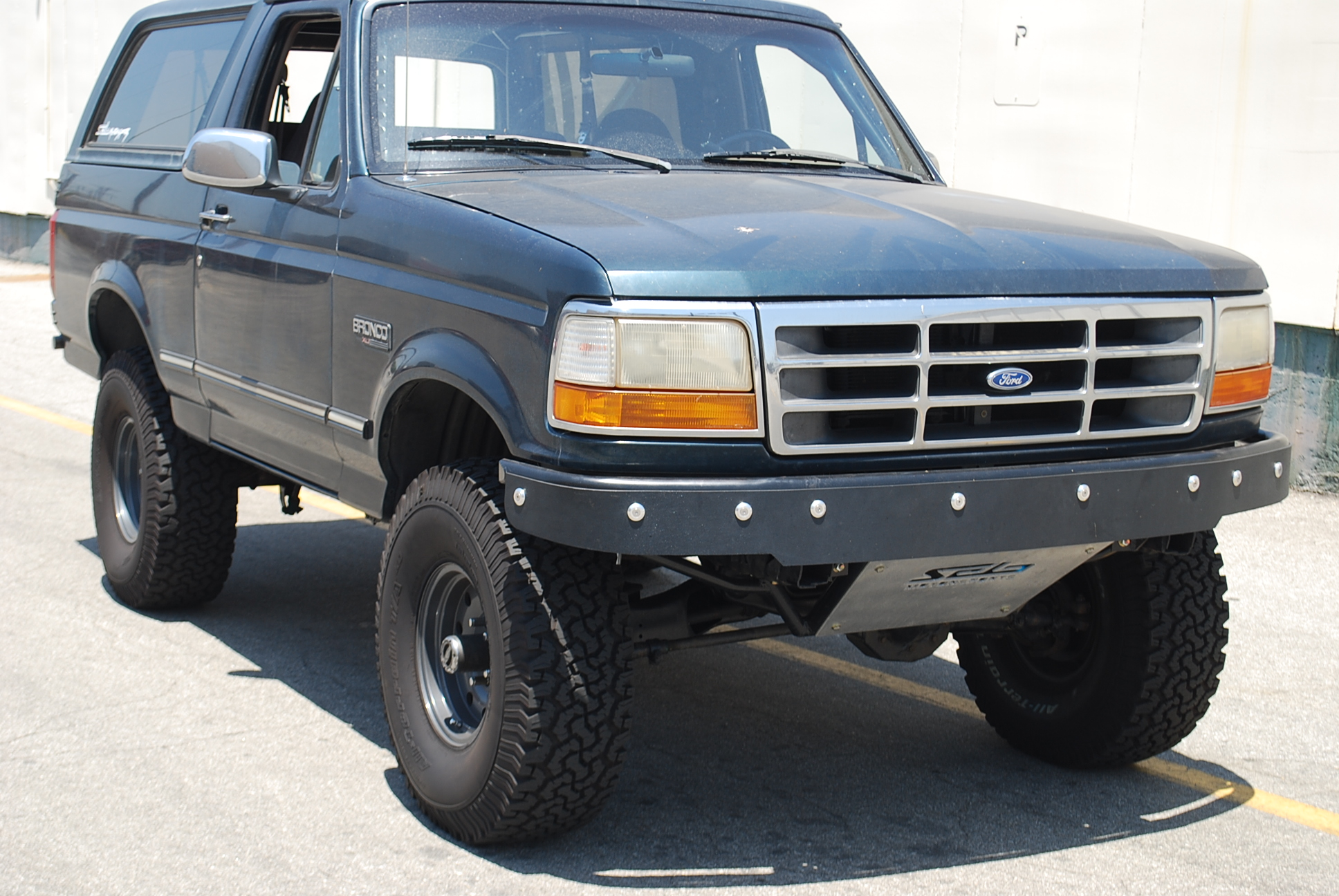 Ford Bronco F 150 Prerunner Front Bumper With Abs