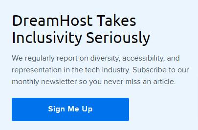 dreamhost sign me newsletter link