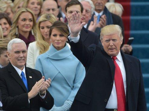 Donald Trump asume como 45º presidente de los Estados Unidos