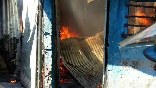 Dos niños mueren calcinados en Chinameca, San Miguel