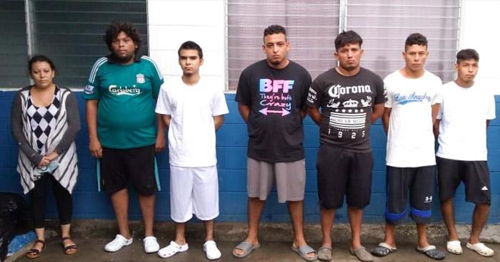 Capturan a 121 delincuentes que operaban en diferentes puntos del país