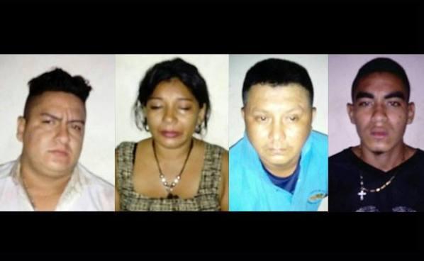 FES capturó a pandilleros que mataron a machetazos a un hombre en El Tránsito