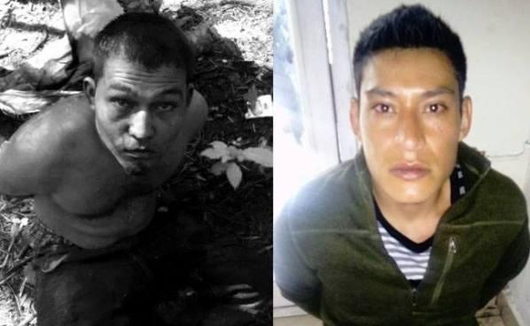Soldados capturan a dos pandilleros con un arma de guerra y droga en Santa Tecla