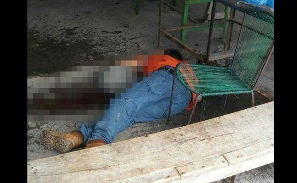 Pandilleros asesinan a hombre que esperaba un autobús en San Martín