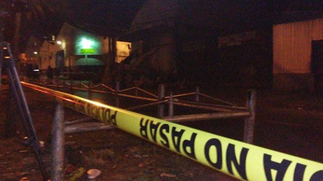Asesinan a una mujer frente al mercado La Tiendona en San Salvador