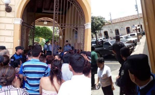 Se registra pelea entre vendedores y agentes del CAM en la alcaldía de Santa Ana