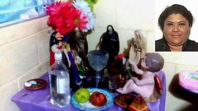 """Condenan a 10 años a """"la tía"""" la bruja de la droga en El Salvador"""
