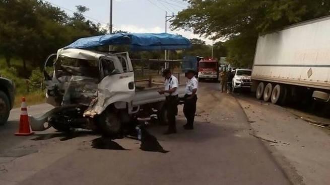 Aparatoso accidente de tránsito deja una persona fallecida en Morazán