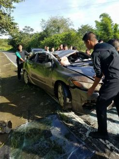 Accidente de tránsito Huizúcar