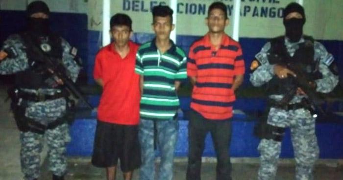 Cuatro detenidos por diferentes delitos en Soyapango y Ahuachapán