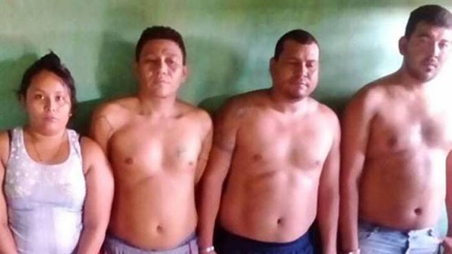 Capturan a 5 sujetos que transportaban más de 300 porciones de droga en La Paz