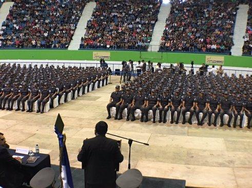 Academia de seguridad gradúa a 474 nuevos agentes policiales