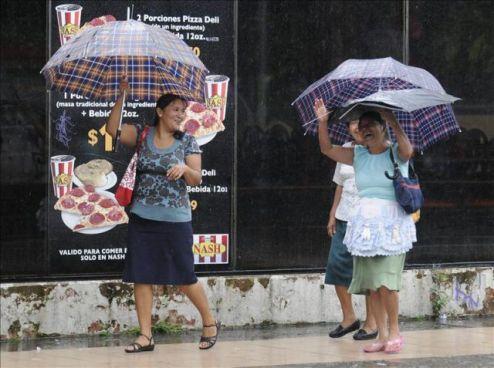 Se esperan lluvias para este Domingo en varios puntos del país