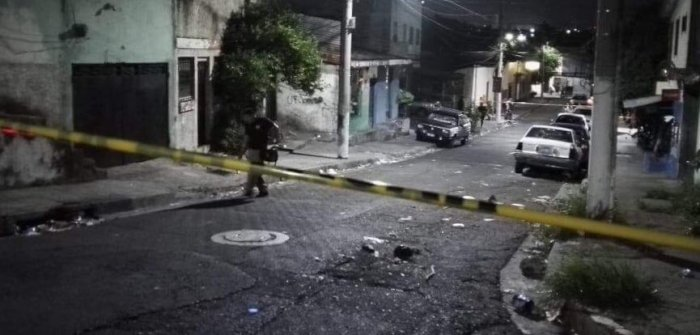 Triple homicidio en condominios Brasilia, San Jacinto