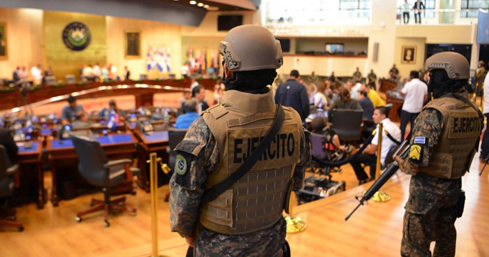 Diputados recomiendan la destitución del director de la PNC y del Ministro de la Defensa por el 9F