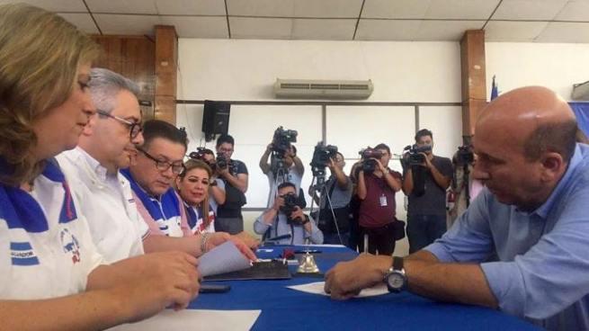 ARENA inicia inscripción de aspirantes a la candidatura presidencial